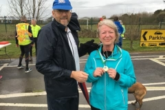 WSPH C25K runner recives medal