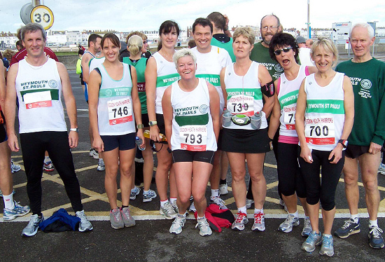 Weymouth 10 Mile Race Runners