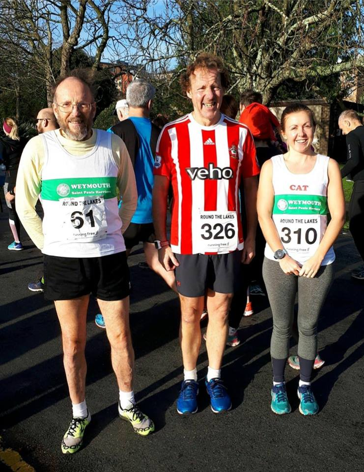 Weymouth Atletics club 10k Poole Lake