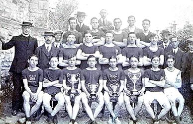 Club Members in 1909
